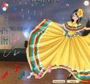 Mexican Folk Dresses на FlashRoom