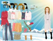 Winter Dress Up 5 на FlashRoom