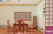 Chinese Archaic Living Room Esacpe