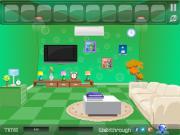 Escape from Green Room на FlashRoom