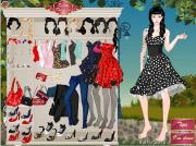 Pin Up Princess Dress Up на FlashRoom