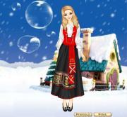 Sweden Folk Dresses на FlashRoom
