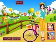 Прогулка на велосипеде на FlashRoom