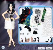 Feather Cocktail Dresses на FlashRoom