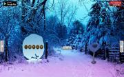 Игра Побег снежной принцессы на FlashRoom
