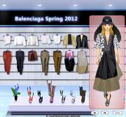 Balenciaga Spring 2012 на FlashRoom