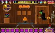 Игра Halloween Witch Door Escape фото