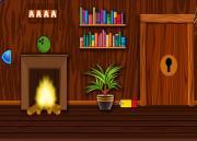 Игра Заснеженный деревянный дом на FlashRoom