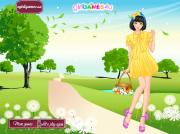 Girly Summer Style Dress Up на FlashRoom