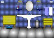Blue bathroom на FlashRoom