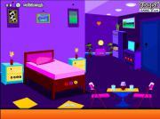 Violet Living Room Escape на FlashRoom