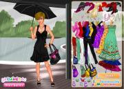 Summer Rain Dress Up на FlashRoom