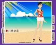Летний Пляж на FlashRoom