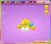 Mahjong Cubes на FlashRoom