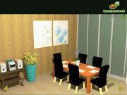 Flowery Dining Room на FlashRoom