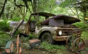 Игра Abandoned Truck Yard на FlashRoom