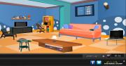 Blue Puzzle Room Escape на FlashRoom