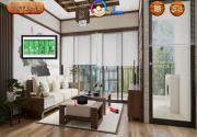 Игра Деревянные апартаменты на FlashRoom