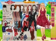 Игра Polka Dots Dress Up  фото