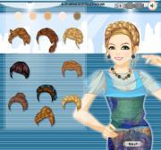 Braided Bunch Hairstyle на FlashRoom