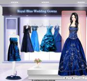 Royal Blue Wedding Gowns на FlashRoom