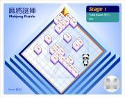 Mahjong puzzle на FlashRoom