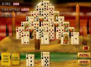 Pyramid Solitaire : Mummy's Curse на FlashRoom