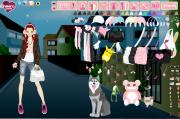 Mega Kawaii dress up game v.2 на FlashRoom