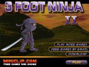 3 Foot Ninja 2 на FlashRoom