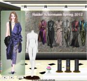 Haider Ackermann Spring 2012 на FlashRoom