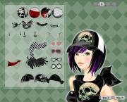 Emo Look на FlashRoom