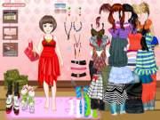 Dress up: Shopping на FlashRoom