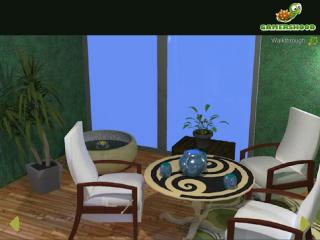 Green Sitting Room Escape на FlashRoom