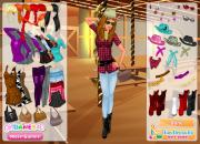 Игра Western Look Dress Up фото