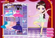 Прекрасная балерина на FlashRoom