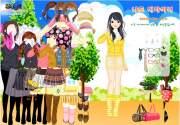 Cute Skirts Dress Up на FlashRoom
