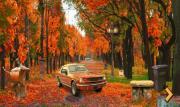Игра Осенний городской парк на FlashRoom