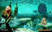 Игра Спасение морского конька на FlashRoom