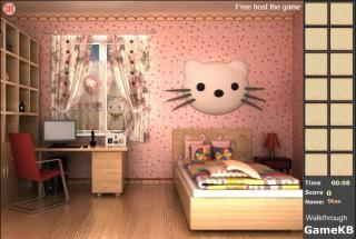 Hello Kitty Room Escape на FlashRoom