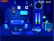 Amazing Blue Room Escape на FlashRoom