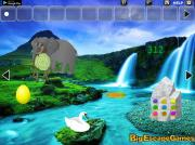 Игра Big Elephant Land Escape фото