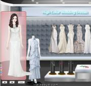 High Collar Wedding Dresses на FlashRoom