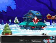 Игра Santa Hall Escape фото