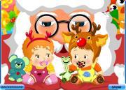 Первое Рождество малышей на FlashRoom