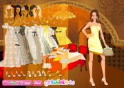 Silver and Gold Glamorous Dress Up на FlashRoom