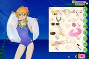 Anime Summer girl dress up game на FlashRoom