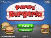 Papa's Burgeria на FlashRoom
