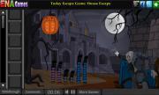 Игра Halloween Palace Escape на FlashRoom