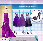 Purple Prom Shoes