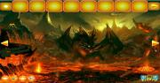 Игра Escape from Fire Dragon Landscape фото